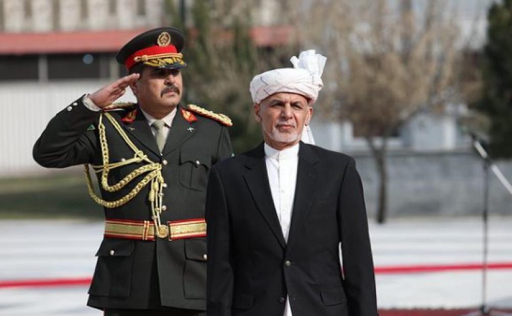 Afghanistan president Ashraf Ghani slams Taliban, says the group has no will for