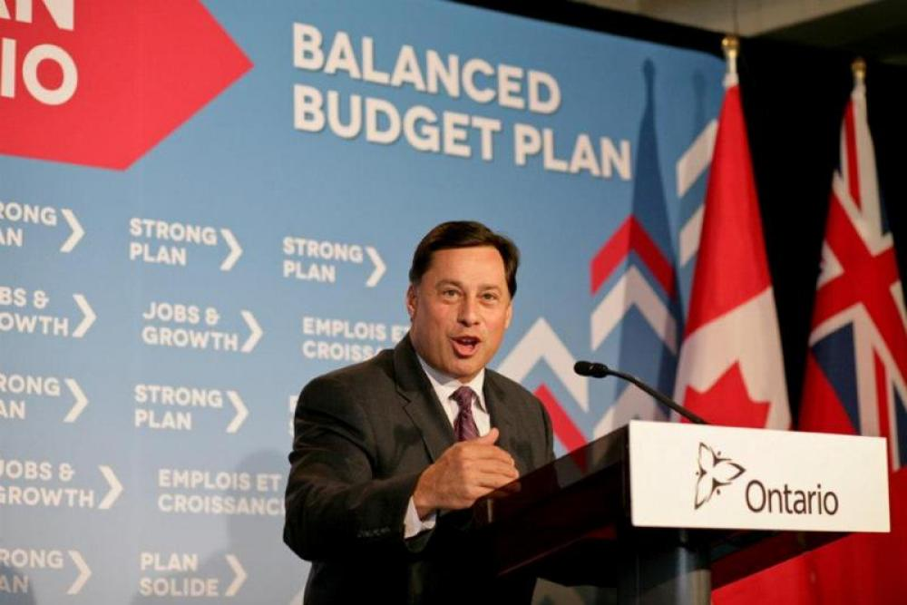 Ontario minister Brad Duguid hails province's economy, says there's room for improvement