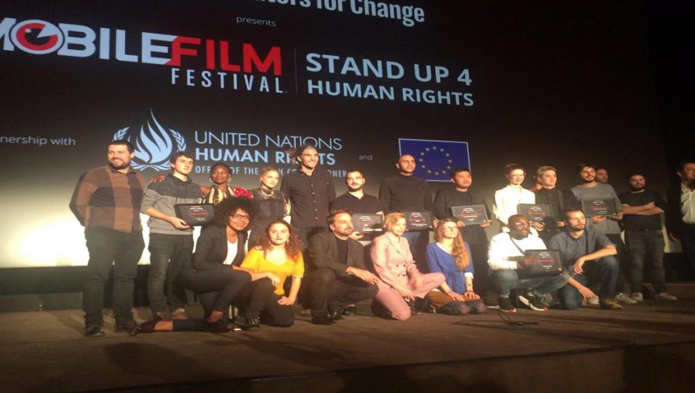 Human rights on film: International festival celebrates mobile phone films for a cause