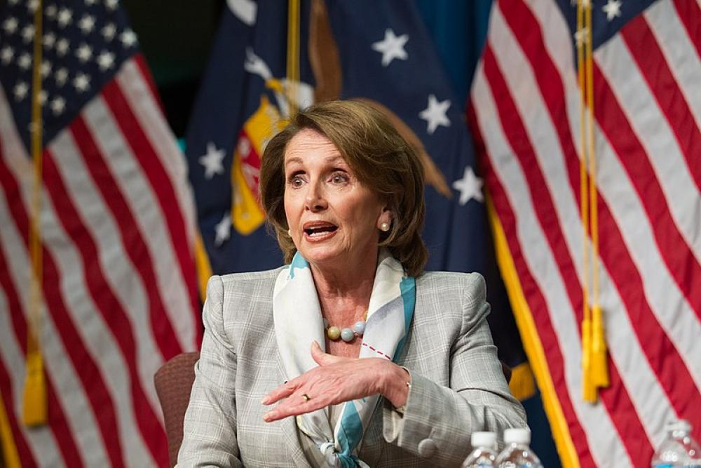 US House Speaker Pelosi says White House $1.3Trln COVID-19 relief package not enough