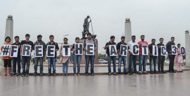Greenpeace India begins Arctic arrest protest in 30 cities