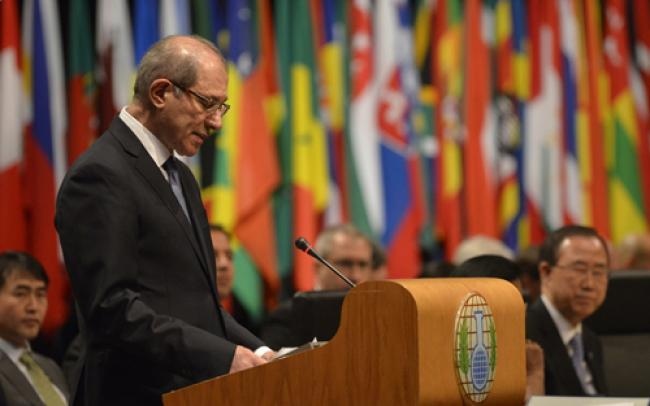 OPCW to kick off removal of chemical arms in Syria