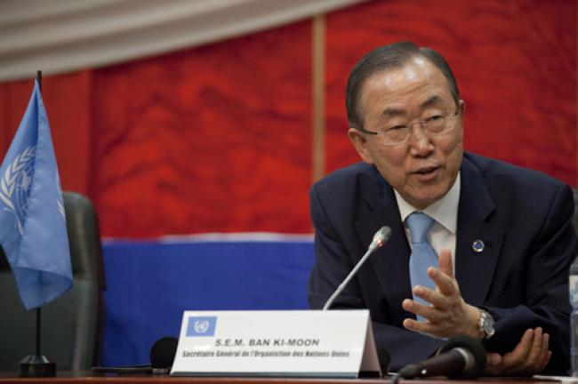 Ban urges cooperation to help Sahel tackle climate change