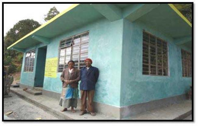 Sikkim constructing quake-resilient houses
