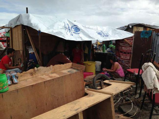 Ban cites Haiyan as wake-up call for climate control efforts