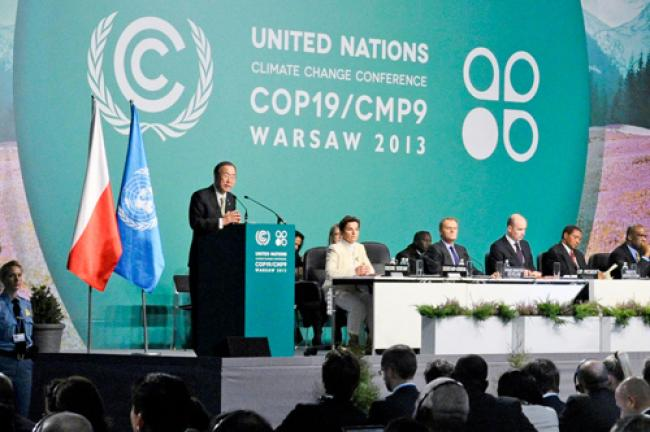 Ban urges climate negotiators to reach global deal