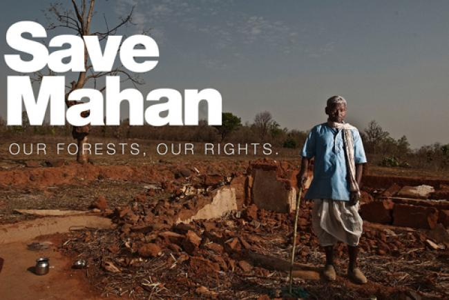 Madhya Pradesh villagers claim Mahan forest rights