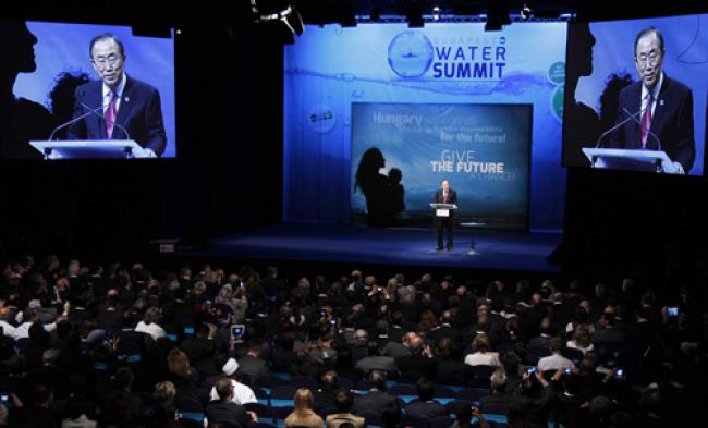 Water holds key to sustainable development: Ban