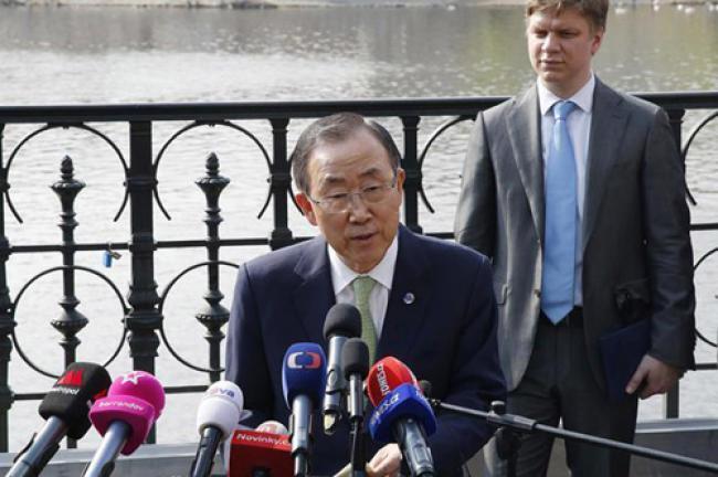 Ban congratulates Prague on climate change preparedness
