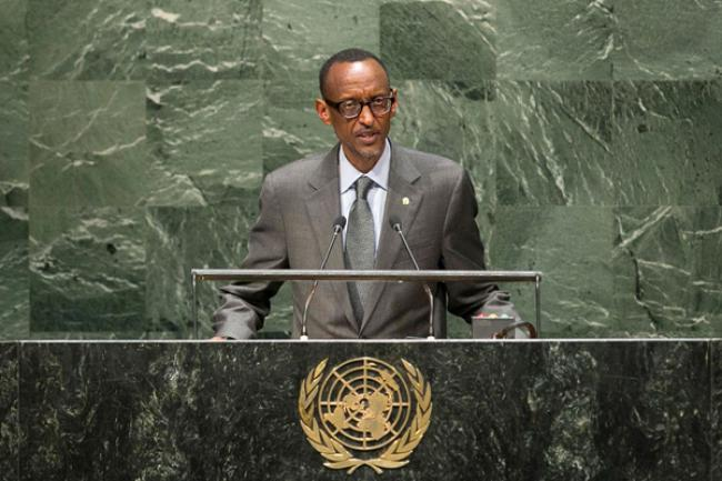 Rwandan President calls on public, private sector to work together on climate change