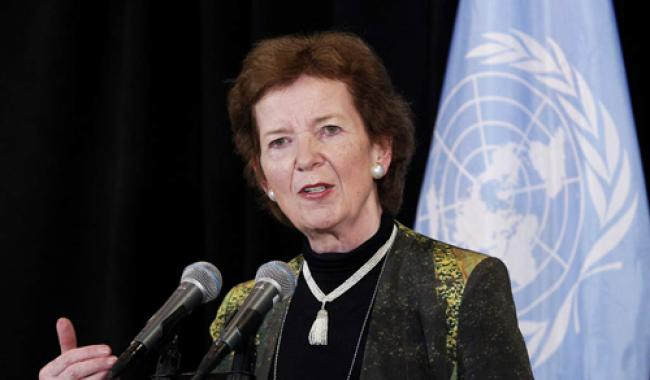 Ban appoints former Irish President Mary Robinson as special envoy for climate change