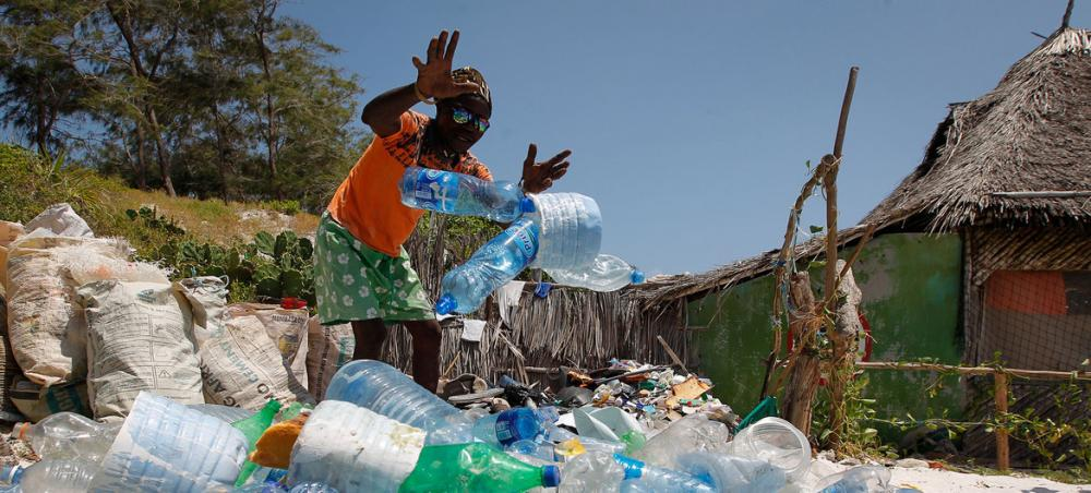 The world is being 'swamped' by harmful plastic waste says UN chief, marking Environment Day