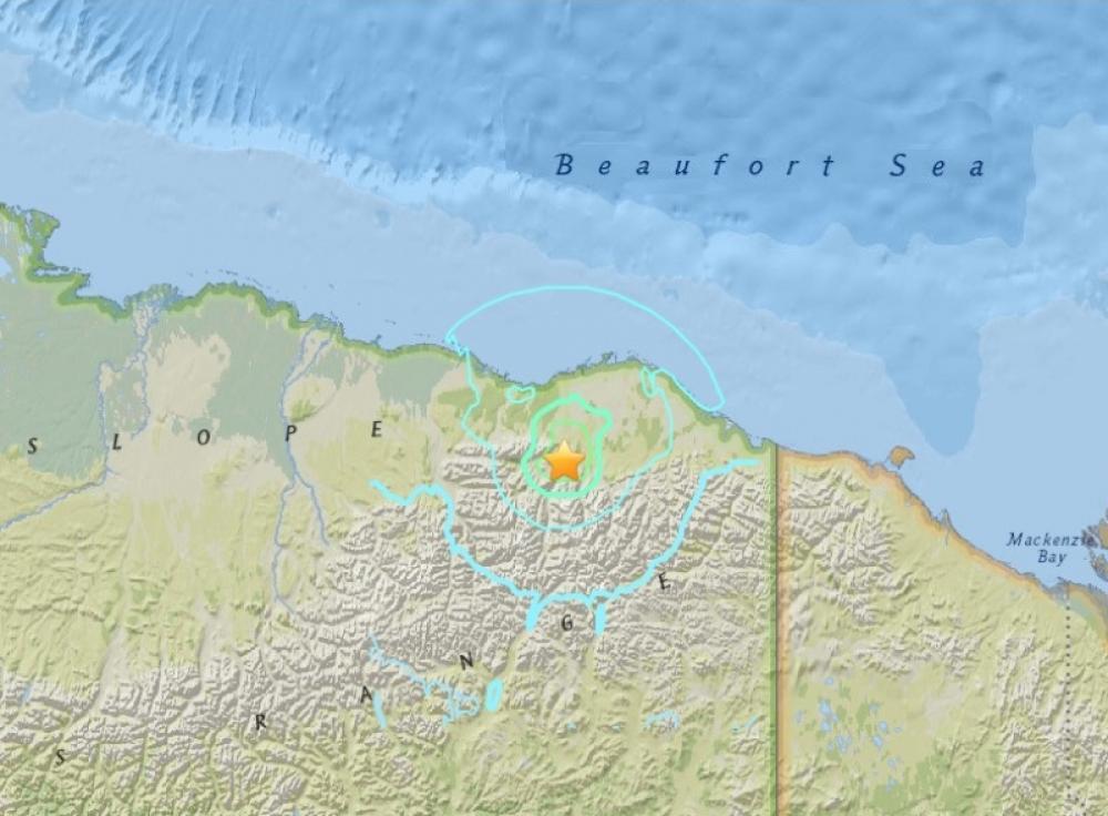 6.4 earthquake hits Alaska, no casualty