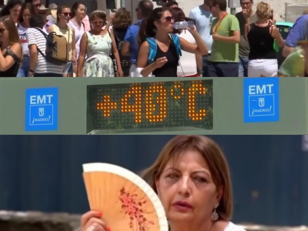 Temperatures soaring in Europe, could soon touch new high: Experts