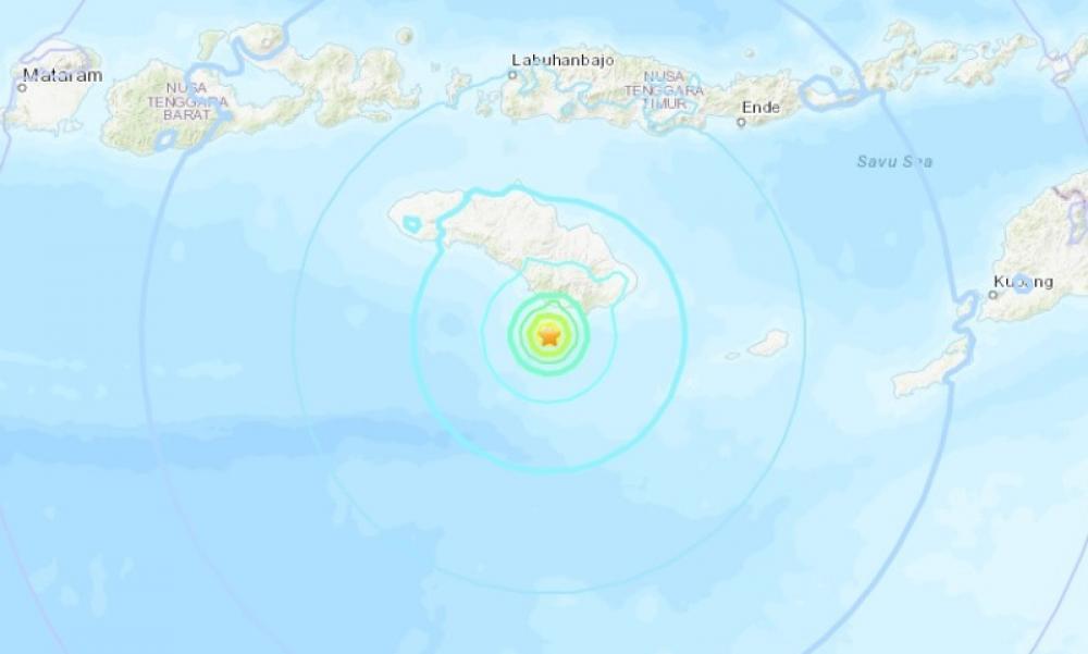 Magnitude 6 earthquake hits Indonesia's Sumba Island
