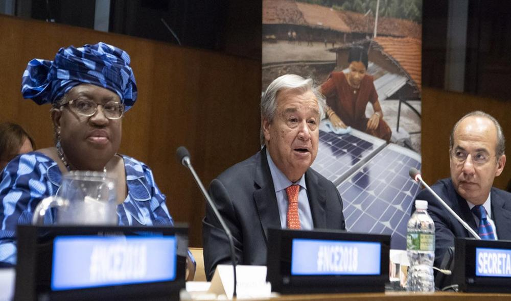 "Runaway climate change still ""a real possibility"": UN Secretary-General"