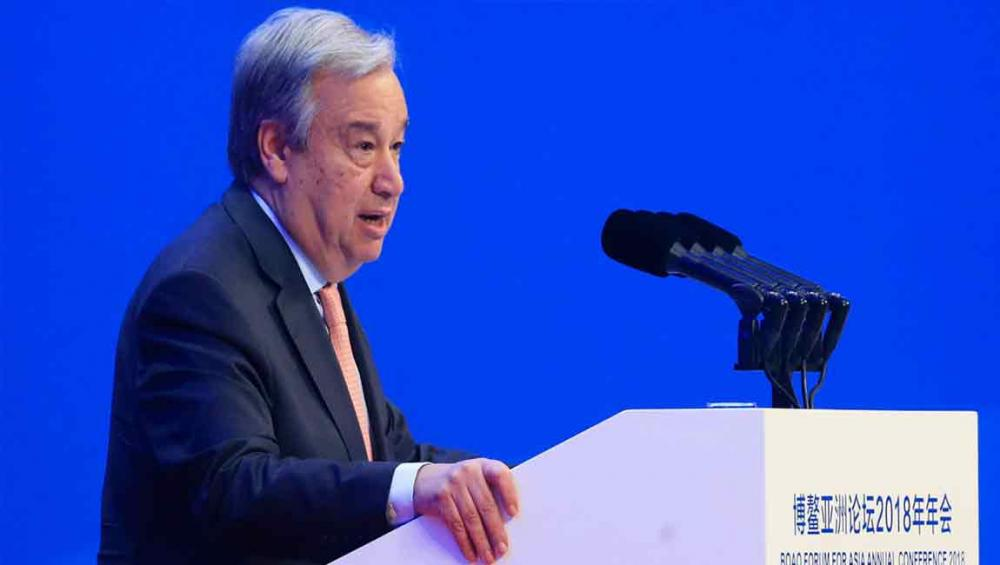 At Asian forum, UN chief calls for more equitable globalization, urgent action on climate change