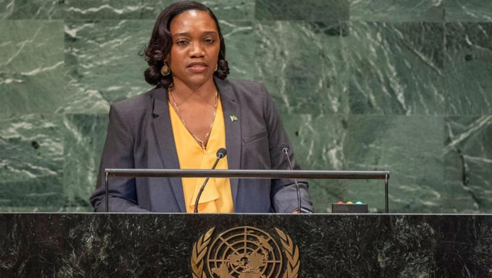Tackling climate change is 'global responsibility of our time,' Dominica Foreign Minister tells UN Assembly