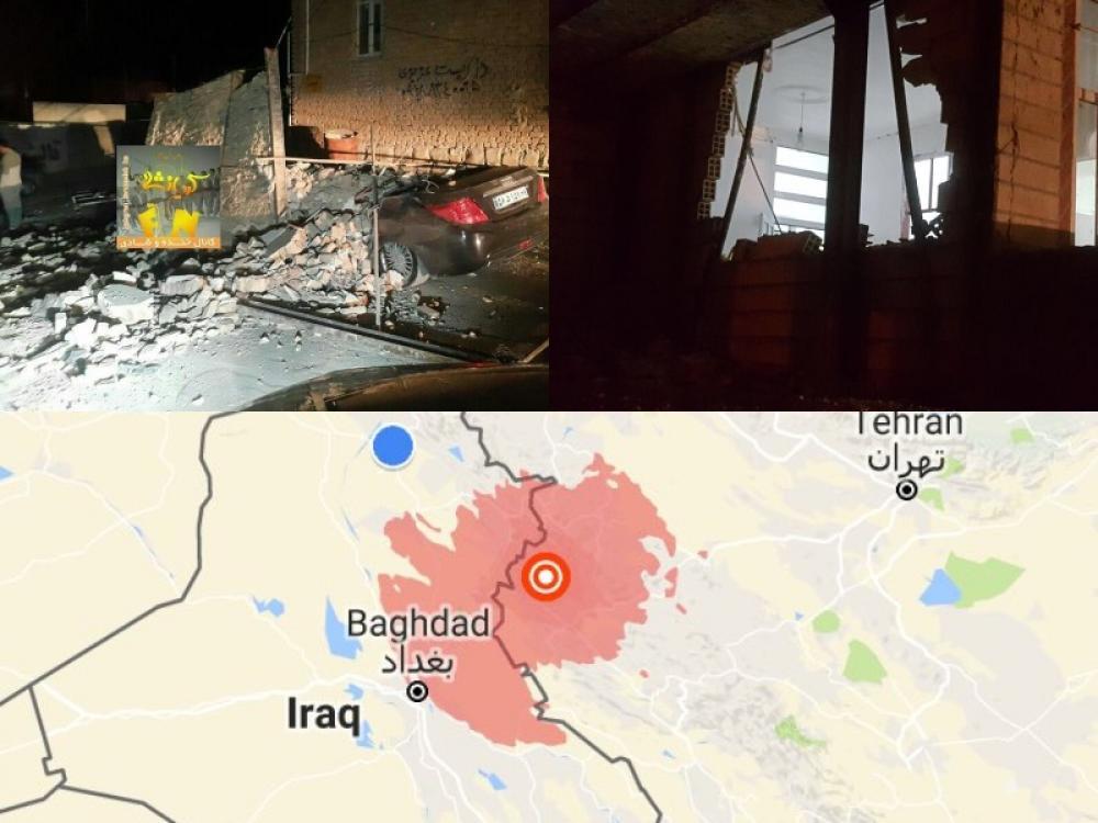 Iran: Magnitude 6 earthquake kills at least 2, injures over 300
