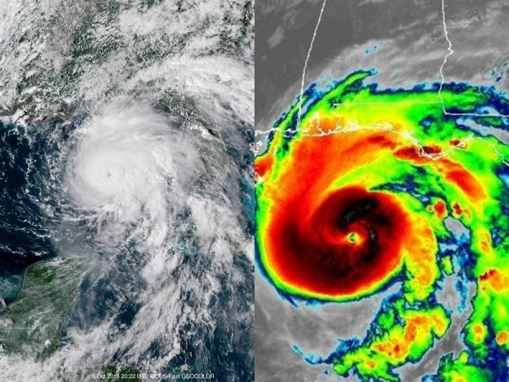 Hurricane Michael: Storm kills at least one person in Florida, downgraded