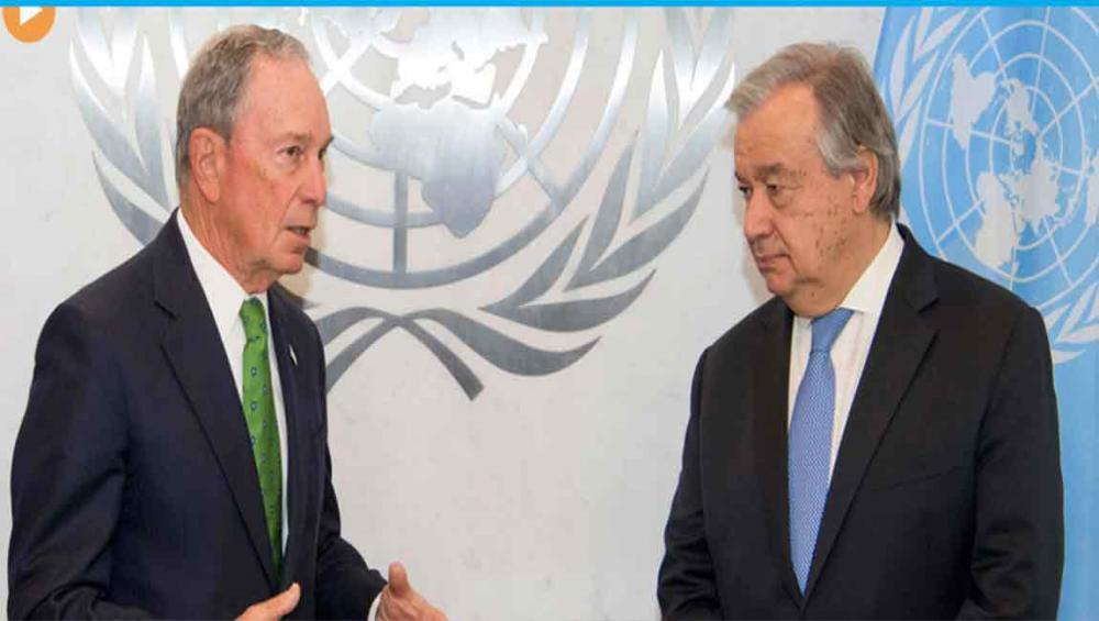 UN chief appoints former New York Mayor as Special Envoy for Climate Action