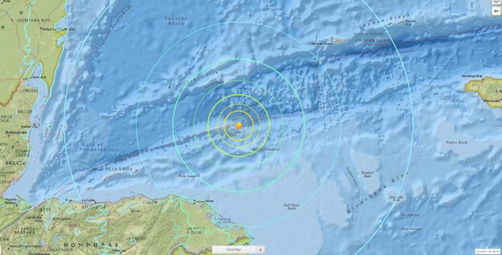 7.6M earthquake strikes Honduras; Tsunami alert issued in Central America