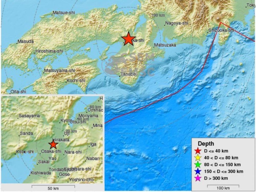 6.1 earthquake hits Japan, 3 die