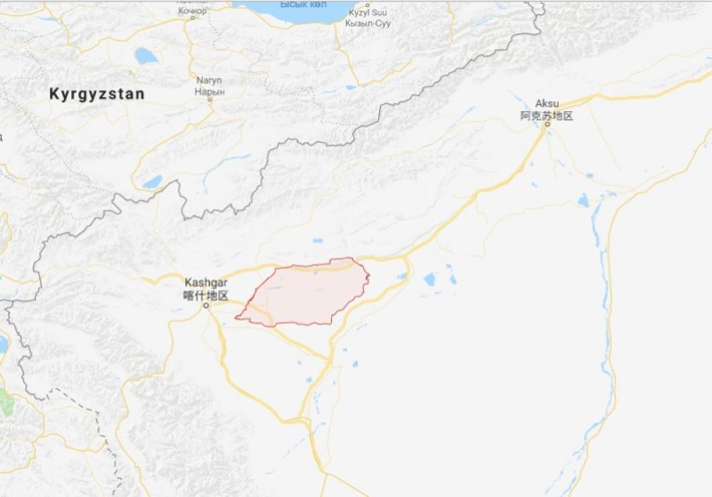 China: M5.5 earthquake hits Xinjiang, no casualty