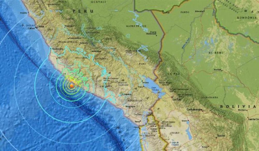 At least one killed as earthquake rocks Peru