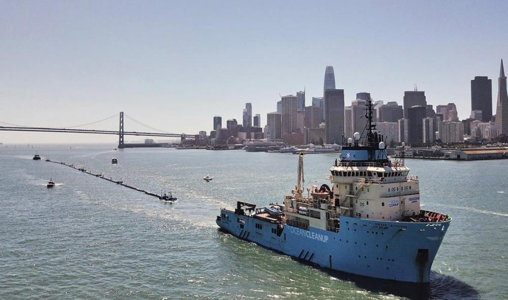 'Great Pacific Garbage Patch' clean-up project launches trial run: UN Environment