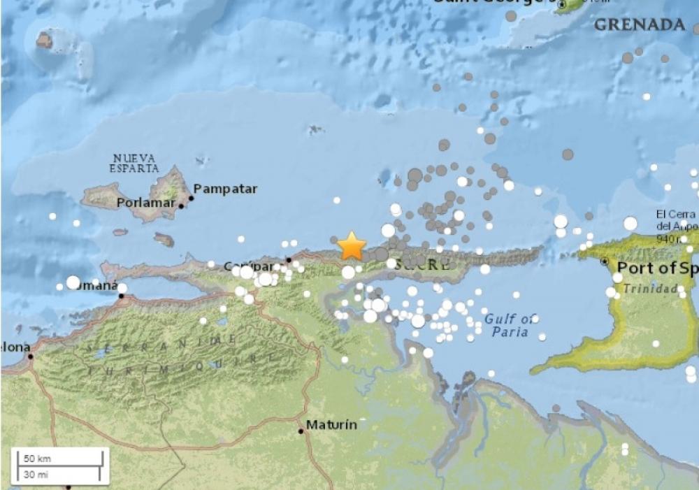 7.3M earthquake hits Venezuela, no casualty