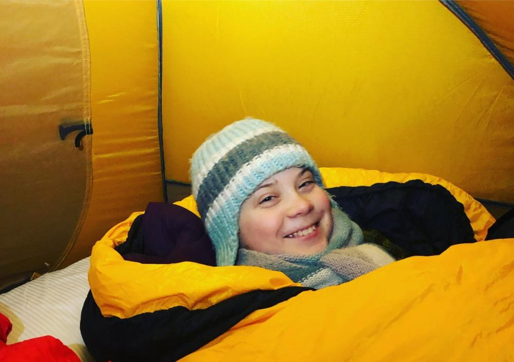 WEF: Swedish teen travels 32 hours in train, sleeps in -18 to highlight climate change to global leaders