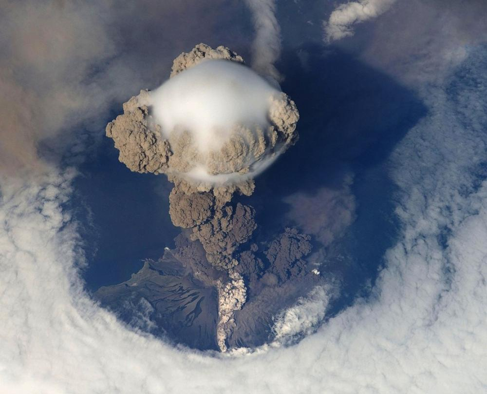 Carbon emissions from volcanic rocks can create global warming - study