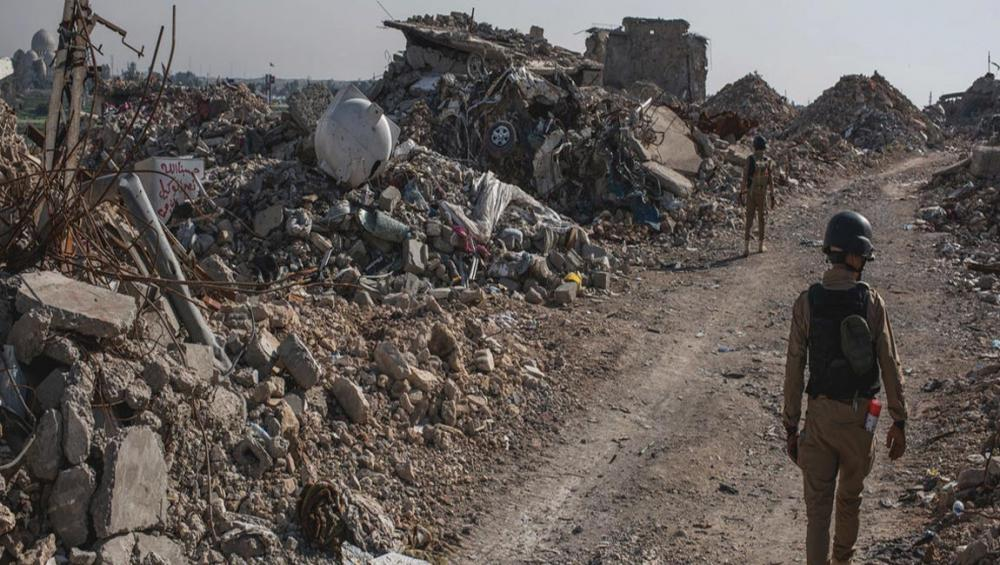 Mosul's '3D contamination' adds to challenges of deadly mine clearance work