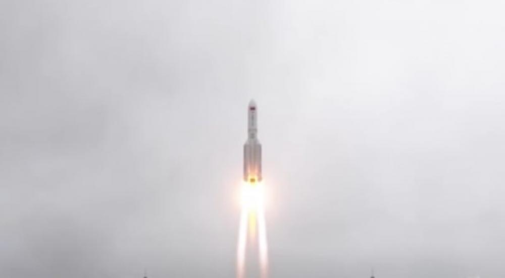 Chinese rocket debris set to re-enter Earth this weekend