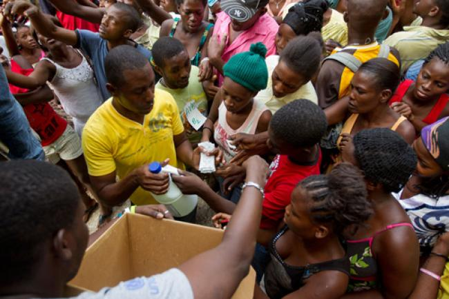Haiti: UN lauds significant gains in fight against cholera