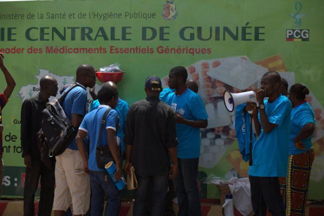 Ebola: UN health agency reports encouraging signs in Nigeria, Guinea
