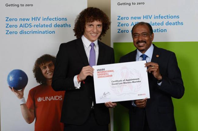 UNAIDS names Brazilian footballer as Goodwill Ambassador