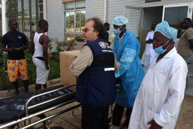 WHO works on to contain Ebola outbreak in Guinea