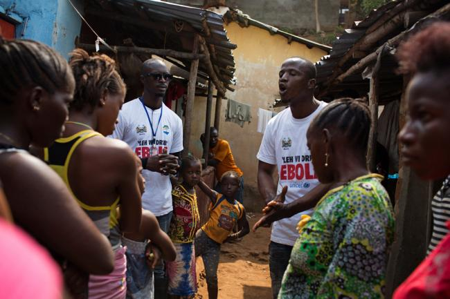 Ebola: UN launches push to engage more women, community leaders in fight against disease