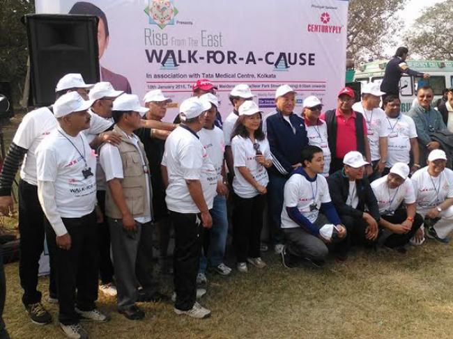 Kolkata hits the road for underprivileged cancer patients of North East