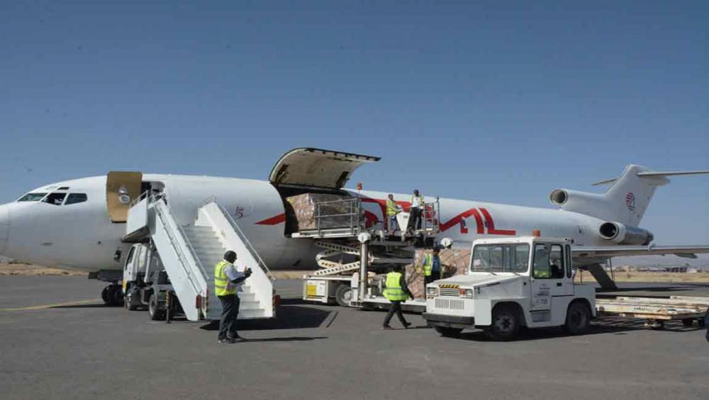 Yemen's Sana'a airport opens after blockade; UNICEF says vaccine delivery 'cannot be a one-off'
