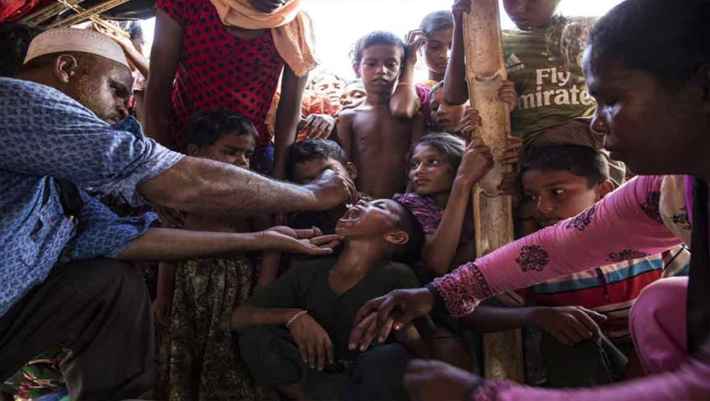 UN agencies launch cholera immunization campaign for Rohingya refugees in Bangladesh