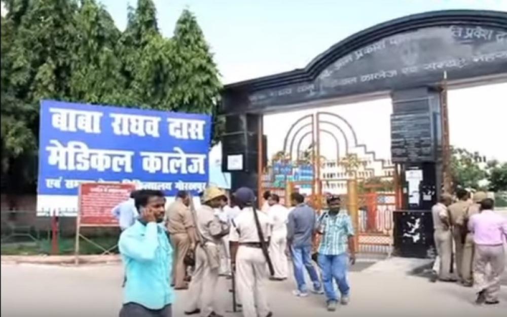 India: At least 60 children die in Uttar Pradesh hospital in five days