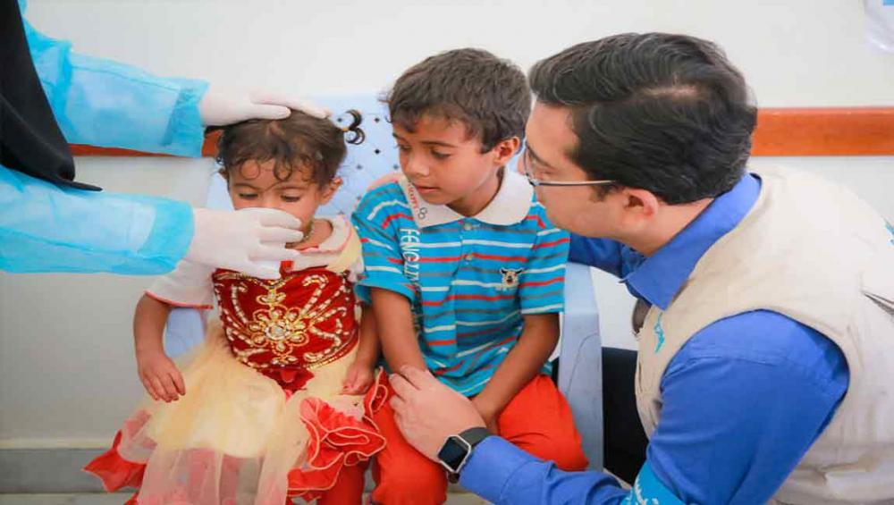 Rainy season worsens cholera crisis in Yemen; UN agencies deliver clean water, food