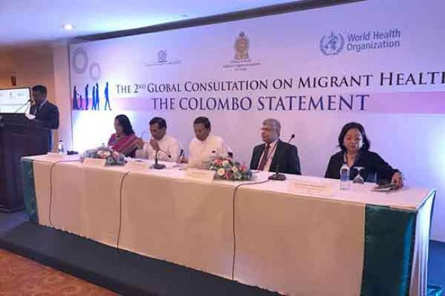 At global UN consultation, health leaders underline need for action on migrant health