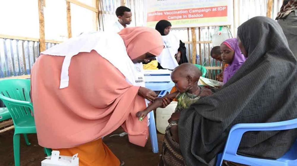 Somalia: UN launches lifesaving vaccination campaign for children facing measles threat