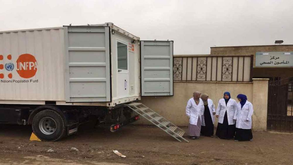 Iraq: UN agency ramps up emergency medical care to women and girls affected by conflict