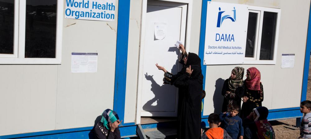 Funding shortfalls threaten health services for a million vulnerable Iraqis, says UN health agency