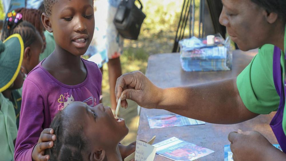 WHO supports Zimbabwe with 1.4 million vaccinations to beat cholera outbreak
